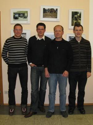 Der neue Vorstand des THW Förderverein Eberbach e.V.
