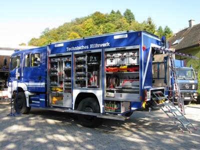 Der neue Gerätekraftwagen 1 wurde mit klassischem Kofferaufbau ausgeführt