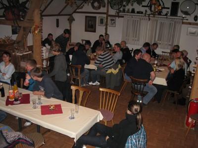 Viele Aktive und Junghelfer waren zur Winterfeier gekommen