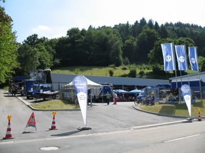 Ansicht von der Pleutersbacher Straße
