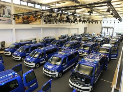 30 MTW wurden im VW-Nutzfahrzeuge-Werk Hannover übergeben
