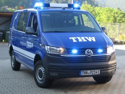 Das neue geländegängige Transportfahrzeug für den mobilen Hochwasserpegel