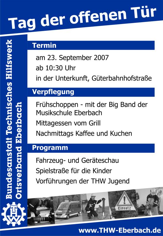 THW Eberbach - Tag der offenen Tür